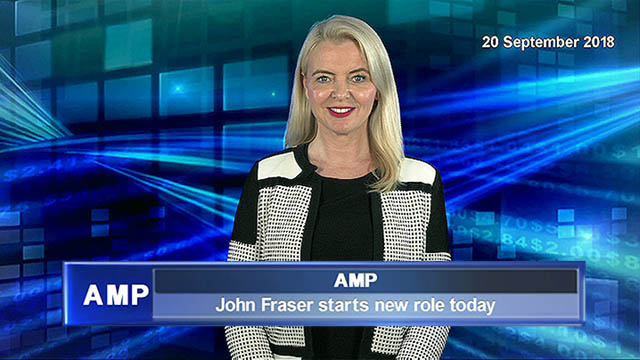 John Fraser starts his role at AMP