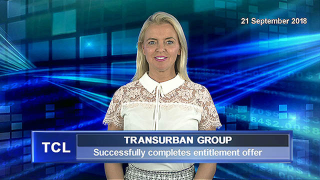 Transurban successfully completes entitlement offer