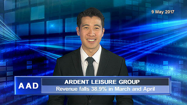 Ardent Leisure revenue falls 38.9% in March and April