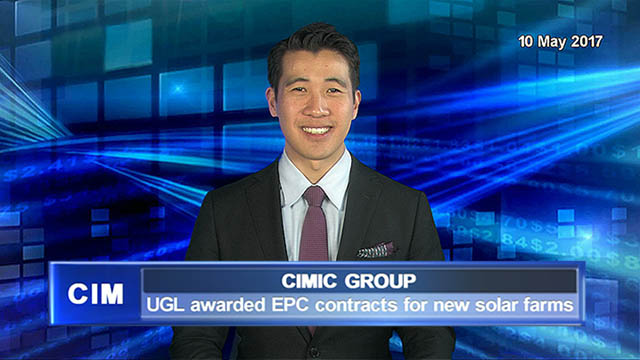 CIMIC: UGL awarded EPC contracts for new solar farms