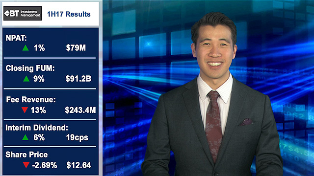 BT releases 1H17 results with record net inflows