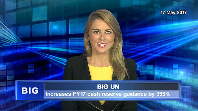 Big Un Increases cash reserve guidance by 399% for FY17