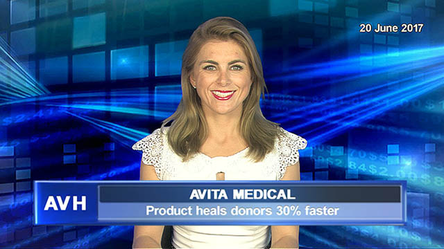 Avita Medical's product heals donors 30% faster