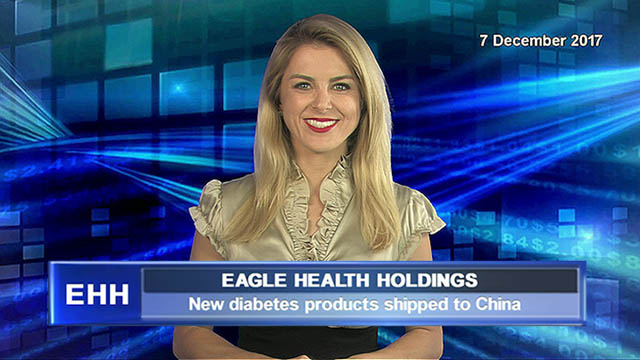 Eagle Health Holdings ships new diabetes products to China