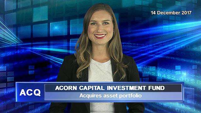 Acorn Capital Investment Fund acquires asset portfolio