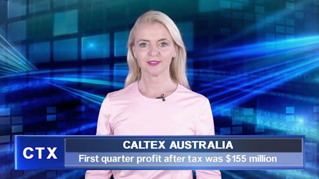 Caltex Q1 profit after tax was $155 million
