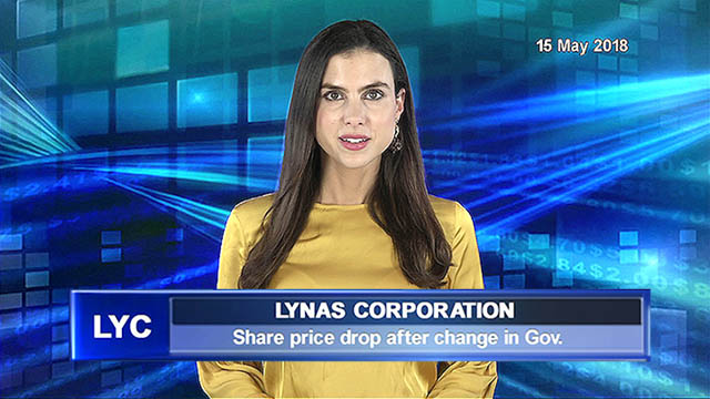 Lynas says share price drop due to change in government