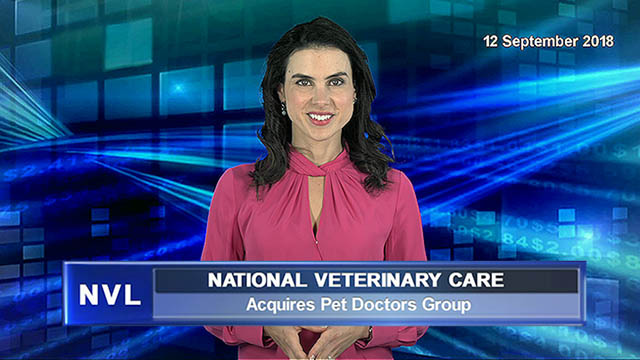 National Veterinary Care to acquire New Zealand's Pet Doctors Group