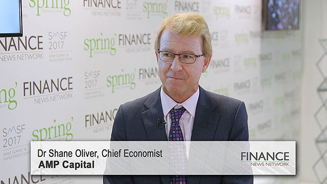 AMP Capital's Shane Oliver speaks at the SMSF2017 Summit & Investment Expo, Sydney