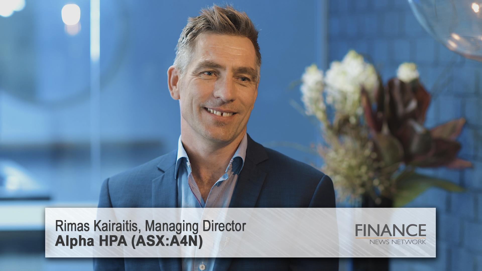 Alpha HPA (ASX:A4N) pilot plant update