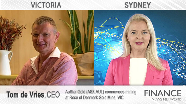 AuStar Gold (ASX:AUL) commences mining at Rose of Denmark Gold Mine, VIC.