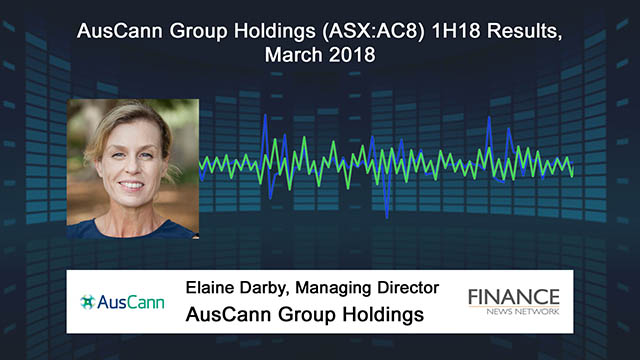 AusCann Group Holdings (ASX:AC8) 1H18 Results