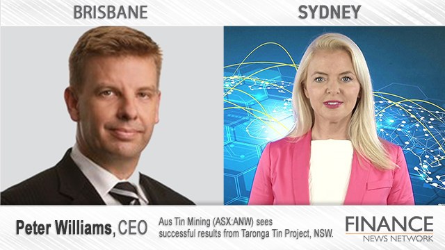 Aus Tin Mining (ASX:ANW) sees successful results from Taronga Tin Project, NSW.