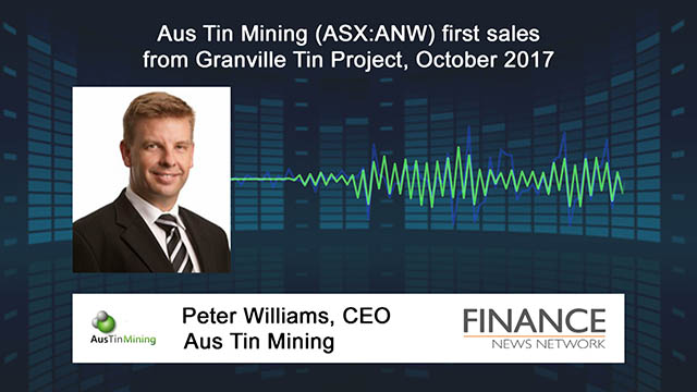 Aus Tin Mining (ASX:ANW) first sales from Granville Tin Project