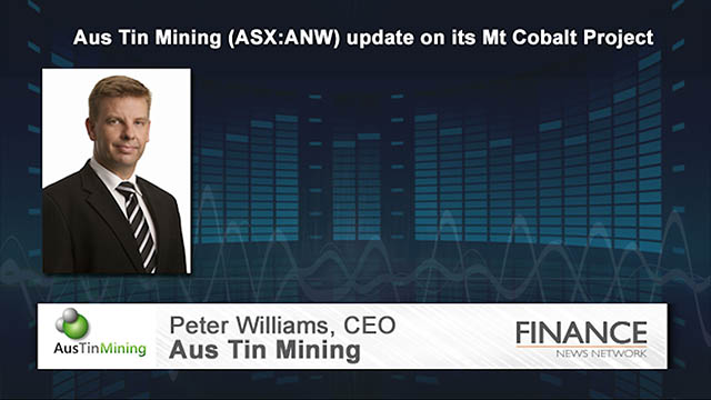 Aus Tin Mining (ASX:ANW) update on its Mt Cobalt Project
