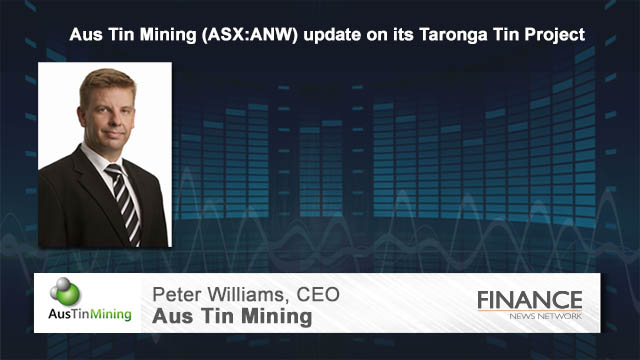 Aus Tin Mining (ASX:ANW) update on its Taronga Tin Project