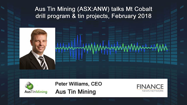 Aus Tin Mining (ASX:ANW) talks Mt Cobalt drill program and tin projects