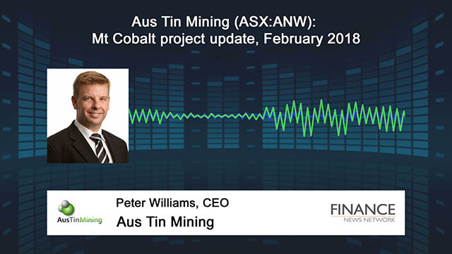 Aus Tin Mining (ASX:ANW) Mt Cobalt project update