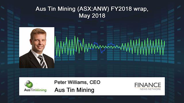Aus Tin Mining (ASX:ANW) FY2018 wrap