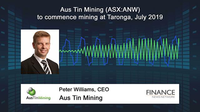 Aus Tin Mining (ASX:ANW) to commence mining at Taronga