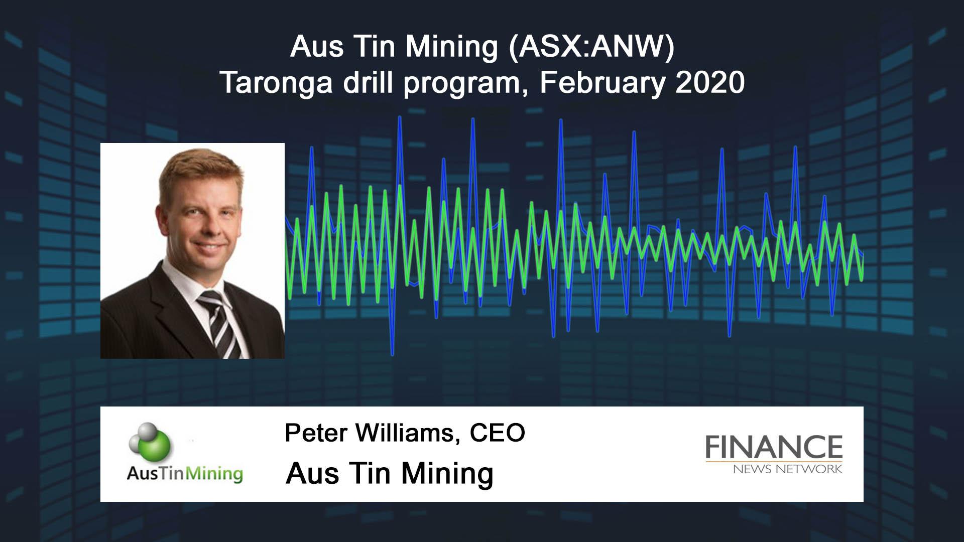 Aus Tin Mining (ASX:ANW) Taronga drill program