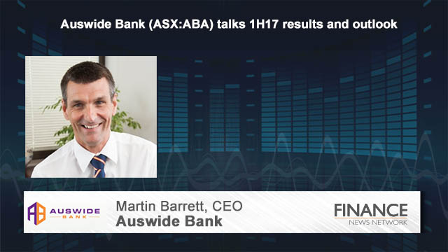 Auswide Bank (ASX:ABA) talks 1H17 results