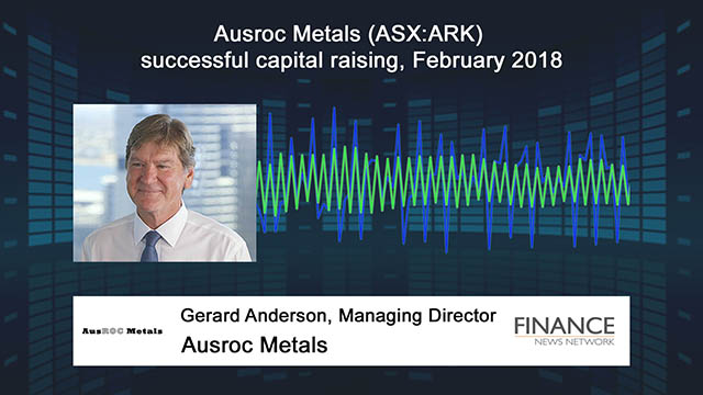 Ausroc Metals (ASX:ARK) successful capital raising, February 2018