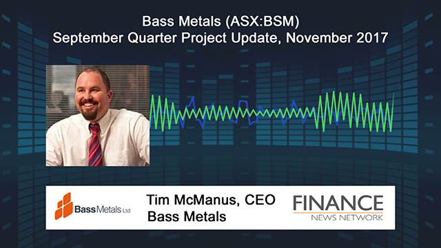Bass Metals (ASX:BSM) quarterly update on graphite and lithium projects