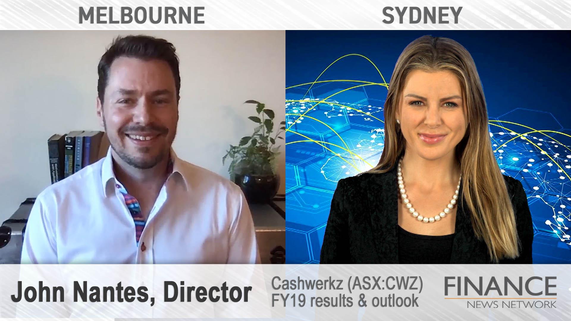 Cashwerkz (ASX:CWZ) FY19 results & outlook