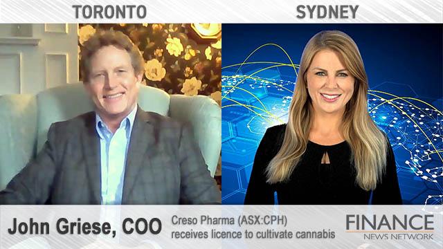 Creso Pharma (ASX:CPH) receives licence to cultivate cannabis