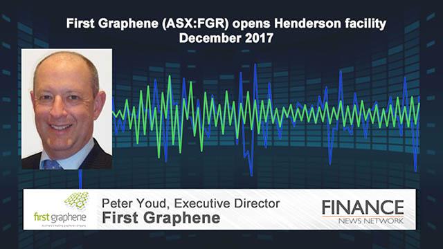 First Graphene (ASX:FGR) opens Henderson facility
