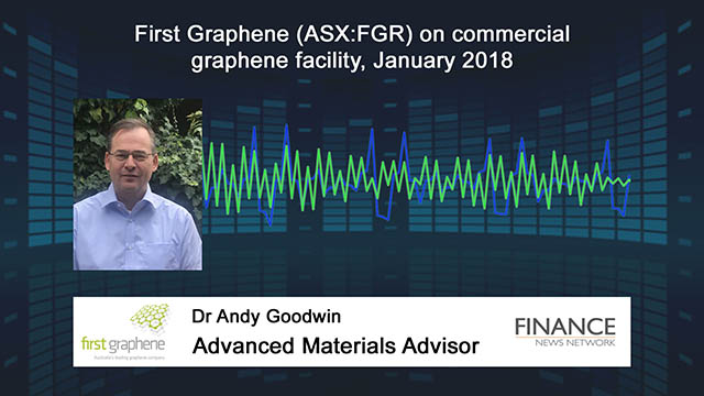 First Graphene (ASX:FGR) on commercial graphene facility