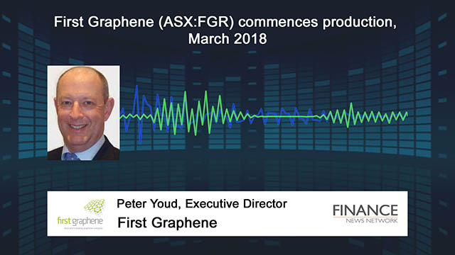 First Graphene (ASX:FGR) commences production