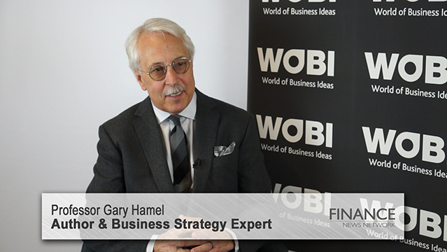 Cashless payments are the future: Gary Hamel