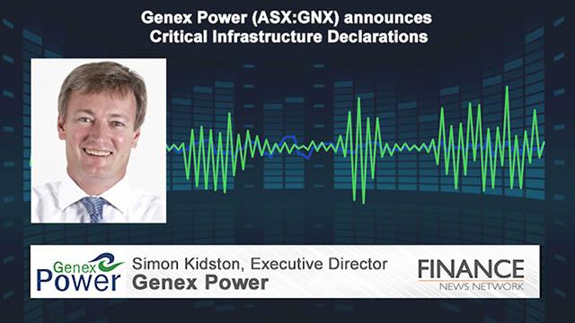 Genex Power (ASX:GNX) announces Critical Infrastructure Declarations