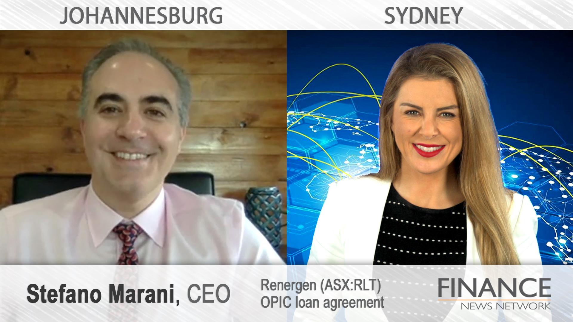Renergen (ASX:RLT) OPIC loan agreement