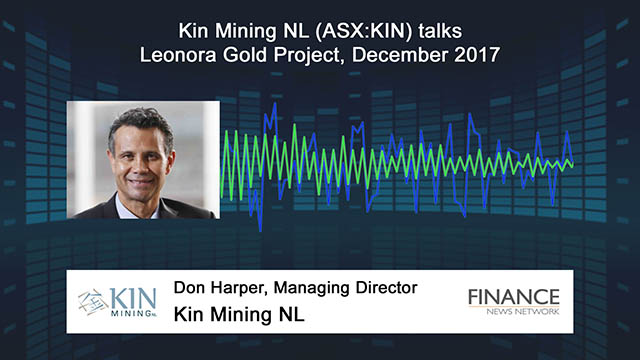 Kin Mining NL (ASX:KIN) talks Leonora Gold Project, December 2017