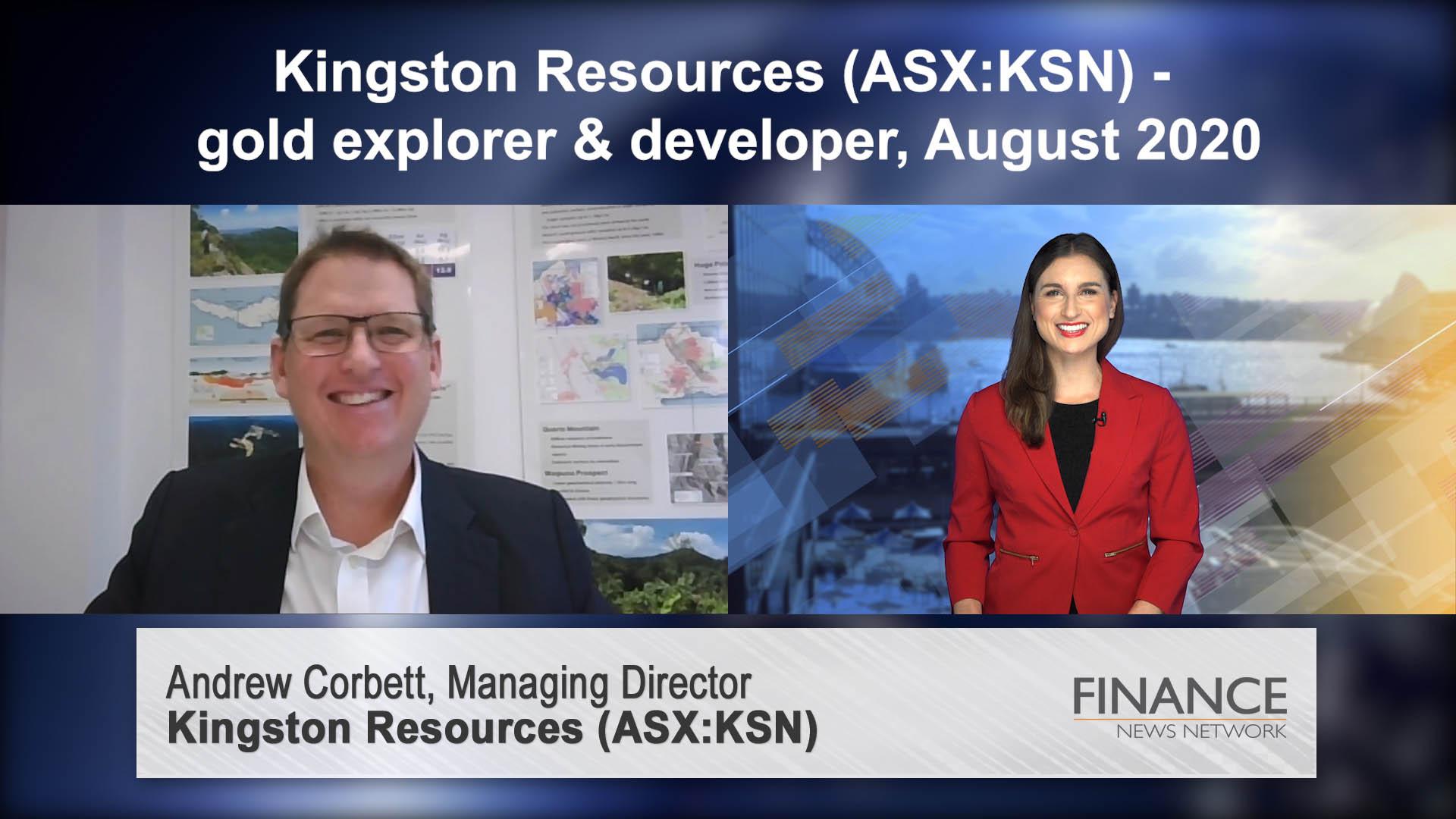 Kingston Resources (ASX:KSN) - gold explorer & developer