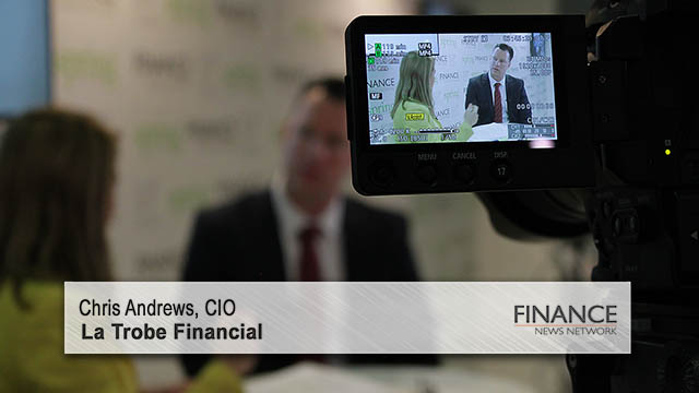La Trobe Financial's Chris Andrews speaks at the SMSF2017 Summit & Investment Expo, Sydney