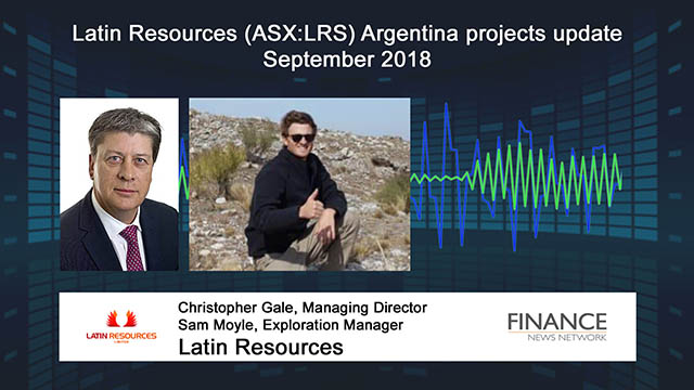 Latin Resources (ASX:LRS) updates on exploration in Argentina