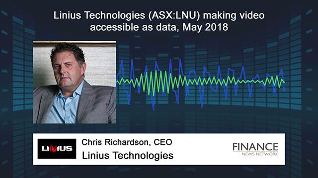Linius Technologies (ASX:LNU) making video accessible as data