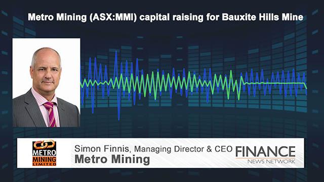 Metro Mining (ASX:MMI) capital raising for Bauxite Hills Mine