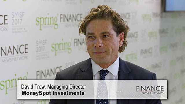 MoneySpot Investments' David Trew speaks at the SMSF2017 Summit & Investment Expo, Sydney
