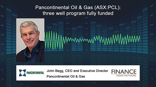 Pancontinental Oil & Gas (ASX:PCL) three well program fully funded