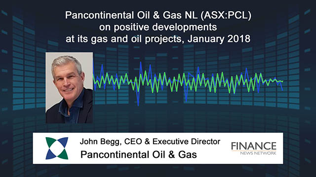 Pancontinental Oil & Gas NL (ASX:PCL) on positive developments at its projects