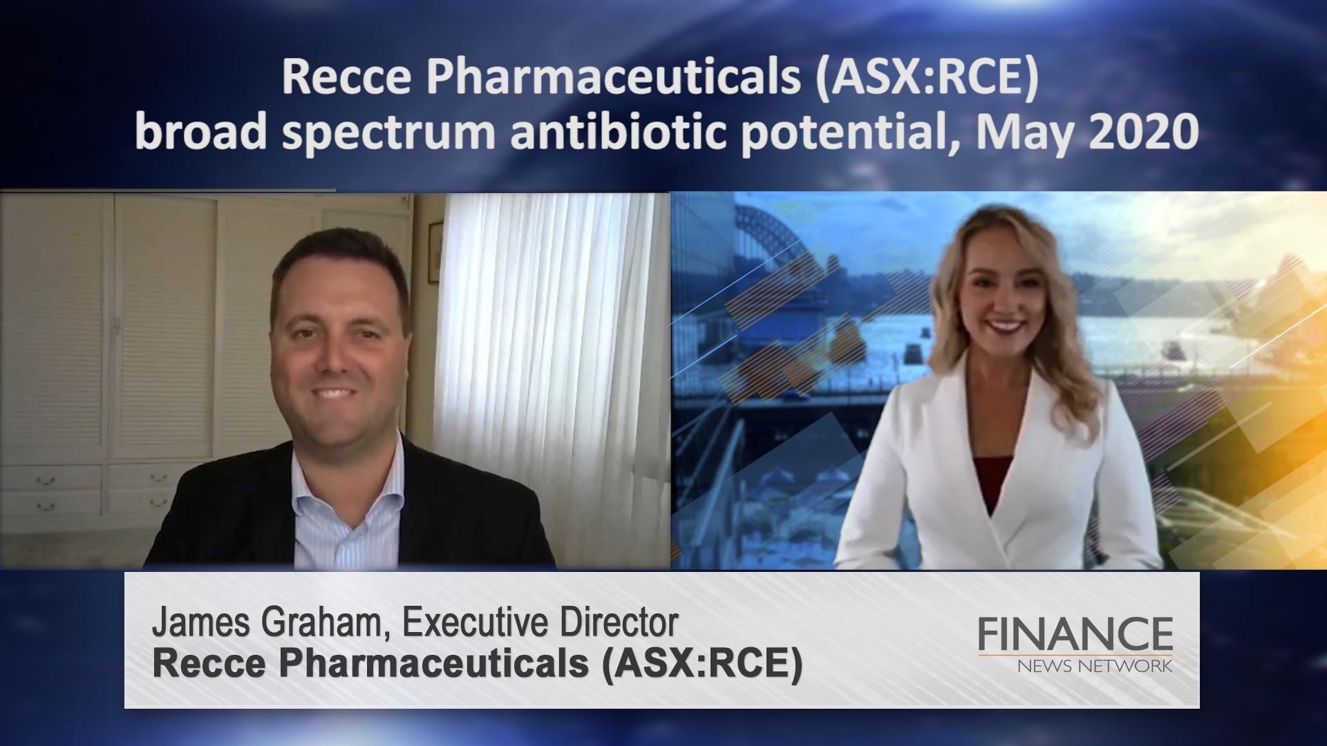 Recce Pharmaceuticals (ASX:RCE) broad spectrum antibiotic potential