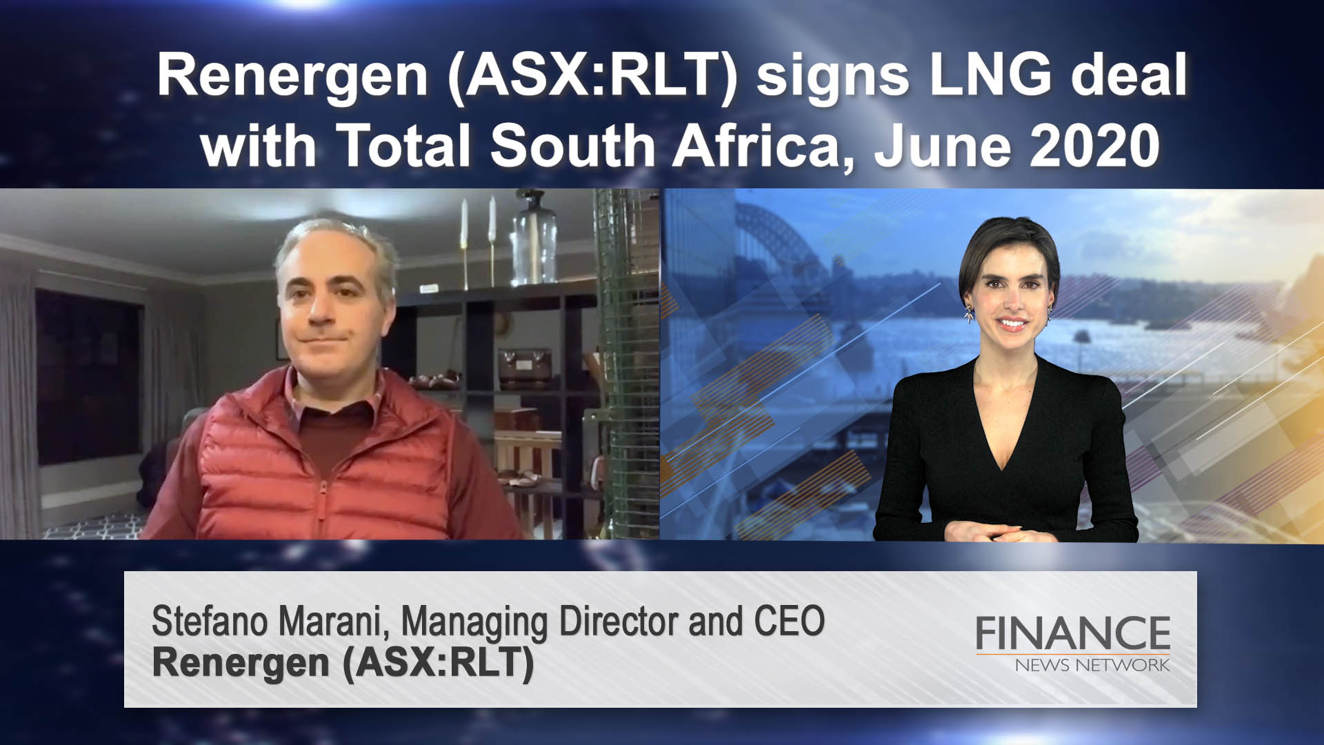 Renergen (ASX:RLT) signs LNG deal with Total South Africa