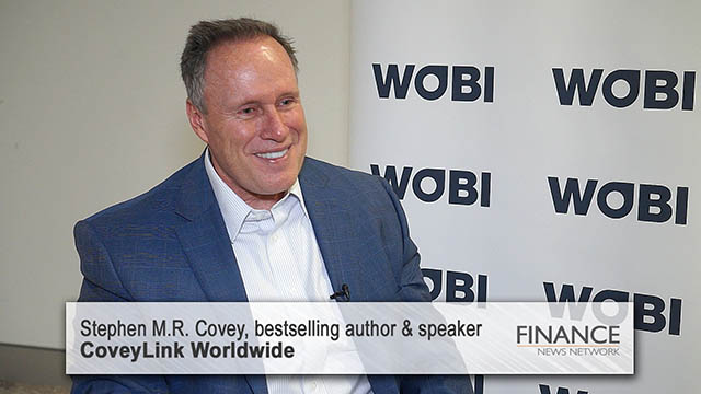 Stephen M.R. Covey business tips
