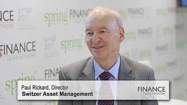 Switzer Asset Management's Paul Rickard speaks at the SMSF2017 Summit & Investment Expo, Sydney