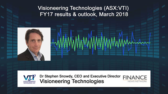 Visioneering Technologies (ASX:VTI) FY17 results